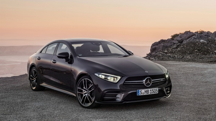 Mercedes-Benz CLS 53 AMG 2019. Desktop wallpaper