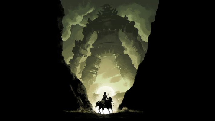 Shadow of the Colossus. Desktop wallpaper
