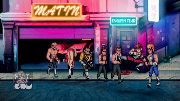 Double Dragon. Desktop wallpaper