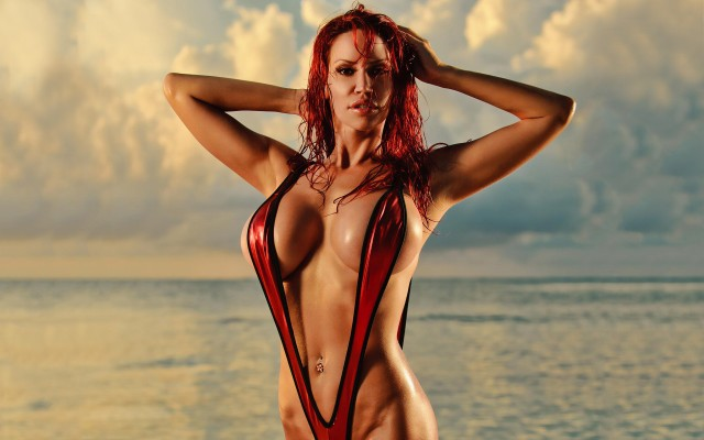 Bianca Beauchamp. Desktop wallpaper