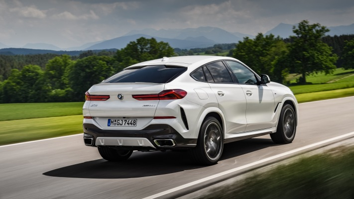 BMW X6 xDrive 30d 2020. Desktop wallpaper