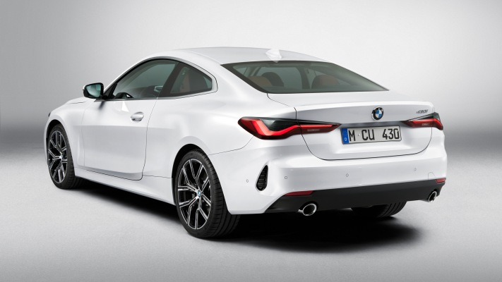 BMW 430i Coupe 2021. Desktop wallpaper
