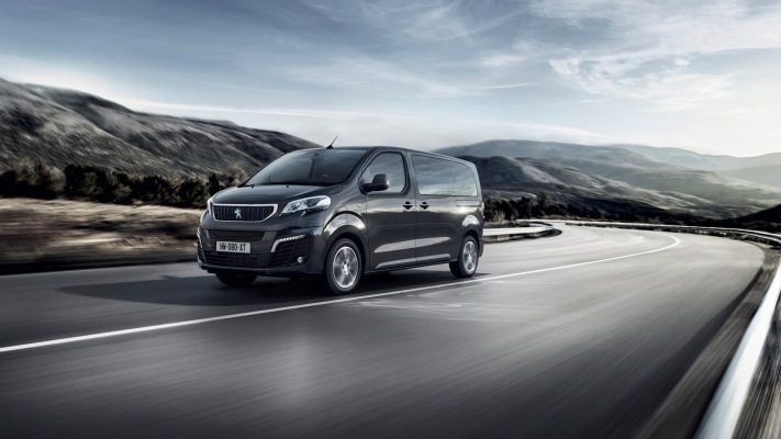 Peugeot e-Traveller 2020. Desktop wallpaper