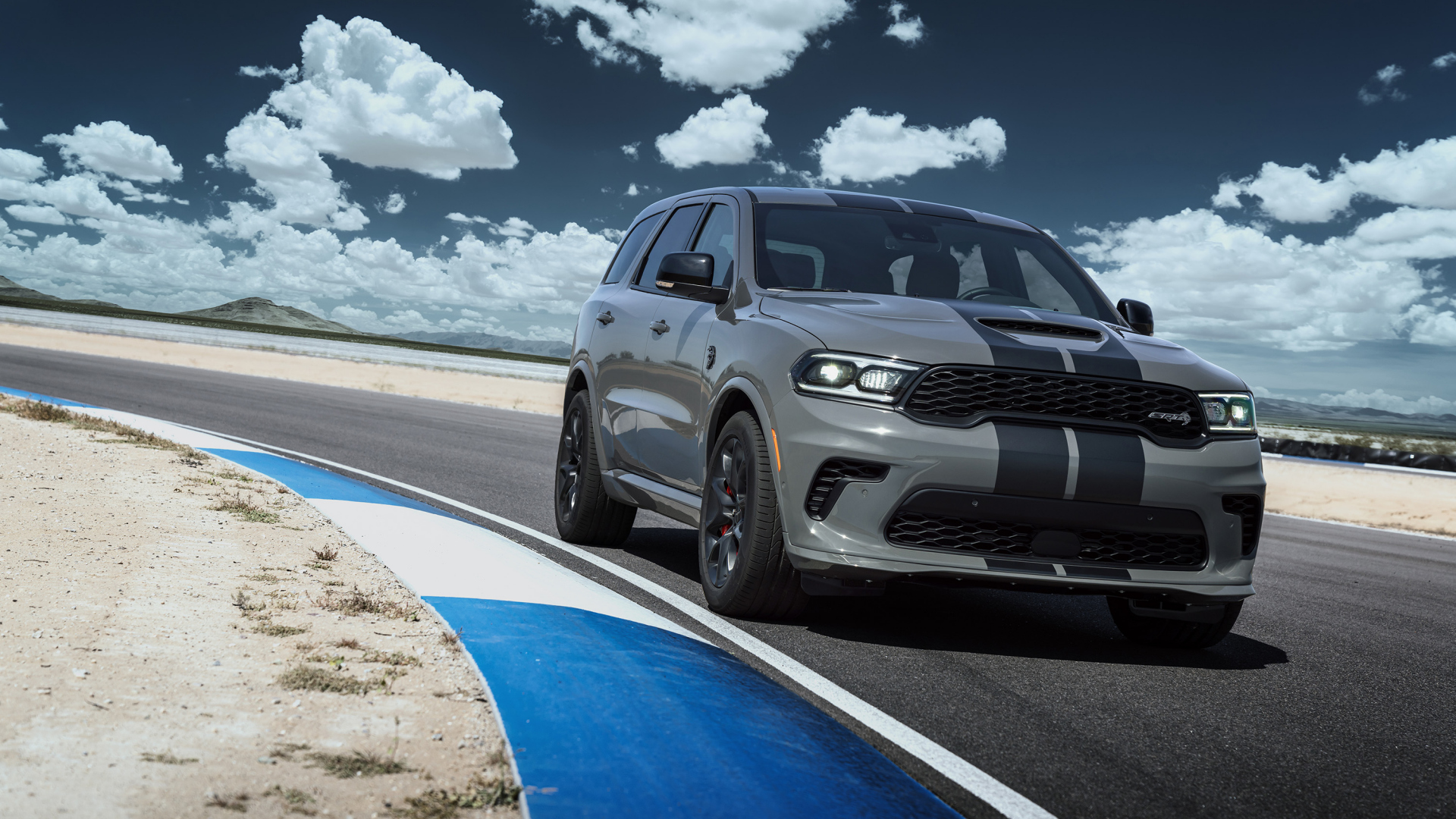 Dodge Durango Srt Hellcat 2021 Desktop Wallpaper 1920x1080