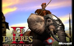 Desktop wallpaper. Age of Empires 2